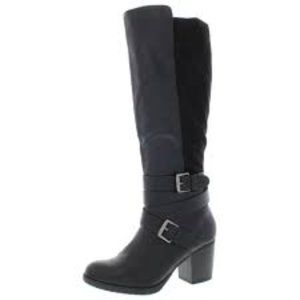 Style & Co NEW Jomaris Faux Leather Knee High Boot